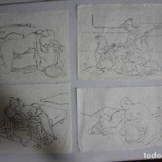 Arte: TINTAS EROTICAS JAPONESAS. Lote 209756820