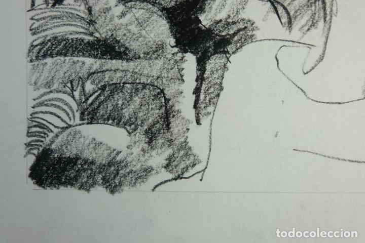 Arte: Jordi Casacuberta Dibujo cera Escena personajes 1975 Firmado - Foto 6 - 209799521