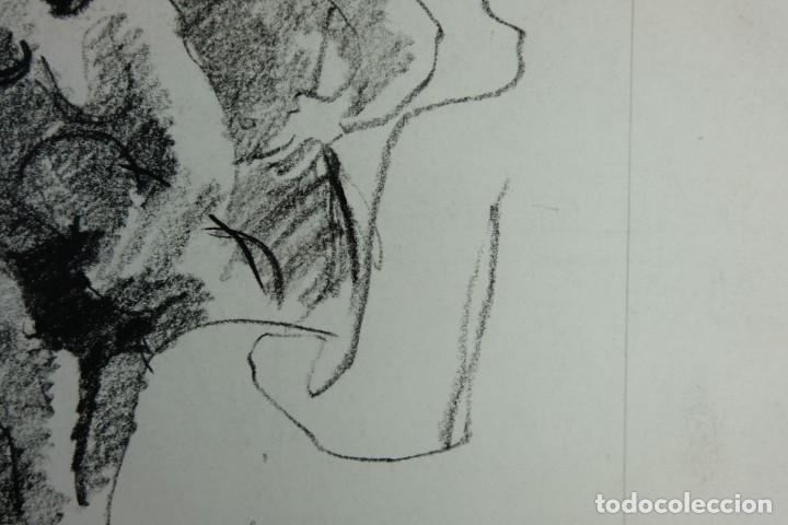 Arte: Jordi Casacuberta Dibujo cera Escena personajes 1975 Firmado - Foto 7 - 209799521