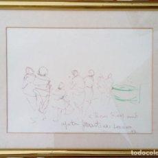 Arte: JOSEP MARIA MARTÍNEZ LOZANO - BARCAS Y FIGURAS-. Lote 209823536