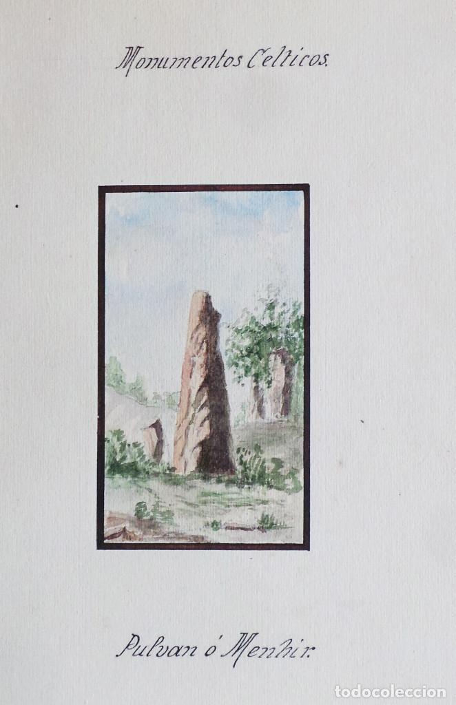 Arte: ALBUM DE DIBUJOS ARQUITECTÓNICOS POR MANUEL VILADOMAT FRENO. BARCELONA. 1890. EN TINTA Y ACUARELA - Foto 41 - 209865366