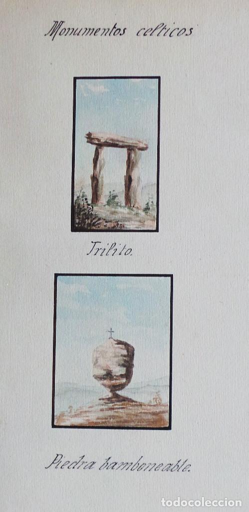 Arte: ALBUM DE DIBUJOS ARQUITECTÓNICOS POR MANUEL VILADOMAT FRENO. BARCELONA. 1890. EN TINTA Y ACUARELA - Foto 42 - 209865366