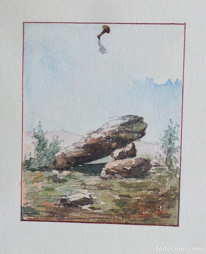 Arte: ALBUM DE DIBUJOS ARQUITECTÓNICOS POR MANUEL VILADOMAT FRENO. BARCELONA. 1890. EN TINTA Y ACUARELA - Foto 45 - 209865366