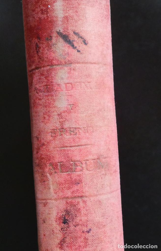 Arte: ALBUM DE DIBUJOS ARQUITECTÓNICOS POR MANUEL VILADOMAT FRENO. BARCELONA. 1890. EN TINTA Y ACUARELA - Foto 58 - 209865366