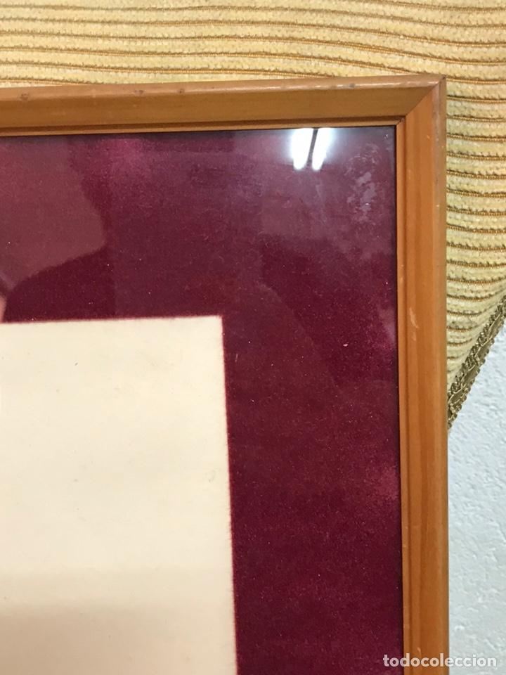 "Arte: Dibujo a la tinta firmado por JOAN COMMELARAN CARRERA titulado ""Regina in caeli asumpta"" 1955 - Foto 12 - 210219125"