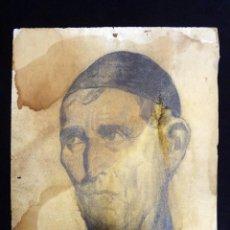 Arte: ANTIGUO DIBUJO INÉDITO DE FRANCISCO BOLINCHES MAHÍQUES. JATIVA 1929. 55X39 CM. ESCASO. XÀTIVA (V. Lote 210436937