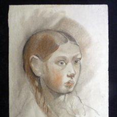 Arte: ANTIGUO DIBUJO INÉDITO DE FRANCISCO BOLINCHES MAHÍQUES. JATIVA 1937. 55X39 CM. MUY ESCASO. XÀTIVA (V. Lote 210437061