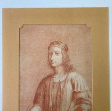 Arte: DIBUJO ORIGINAL DEL S. XVIII O XIX , SANGUINA SOBRE PAPEL , ESCUELA ITALIANA. Lote 184266405