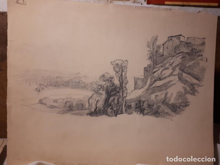 Arte: 16 DIBUJOS A LÁPIZ DE 1901. - Foto 5 - 211823437