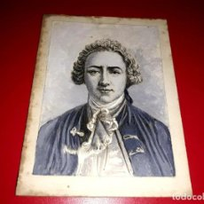 Arte: DIBUJO ANTIGUO PINTADO A MANO DE NICOLAS CHAMPFORT. Lote 211910105