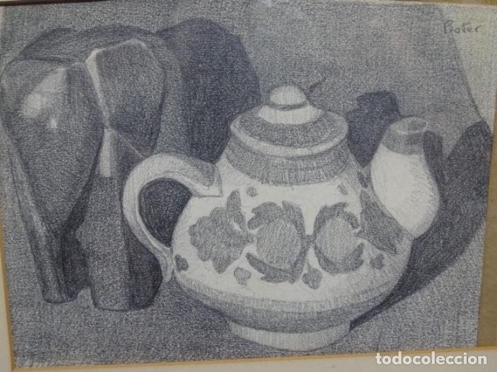DIBUJO RAMON BOTER. (Arte - Dibujos - Contemporáneos siglo XX)
