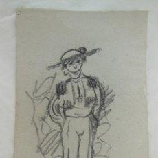 Arte: DIBUJO ORIGINAL : TORERO. LUQUE MANUEL FERNÁNDEZ (ÉCIJA 1919 - VALENCIA 2005). Lote 212523630