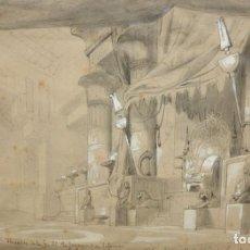 Arte: D'APRES DU CAMBON. ESCUELA FRANCESA DEL SIGLO XIX. LE JUGEMENT DE SALOMON. Lote 213131603