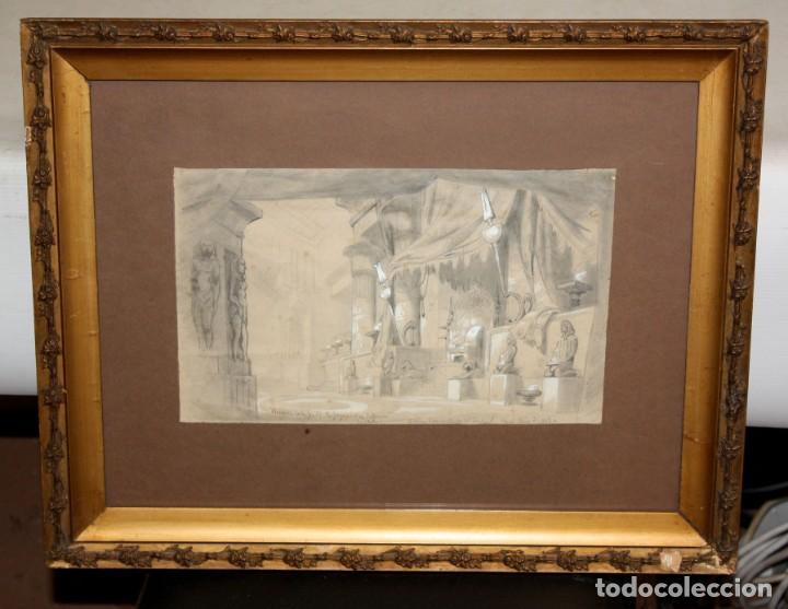 Arte: DAPRES DU CAMBON. ESCUELA FRANCESA DEL SIGLO XIX. LE JUGEMENT DE SALOMON - Foto 2 - 213131603