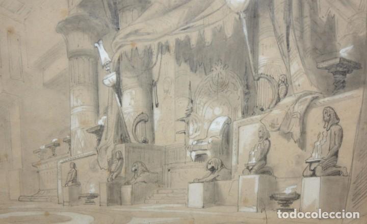 Arte: DAPRES DU CAMBON. ESCUELA FRANCESA DEL SIGLO XIX. LE JUGEMENT DE SALOMON - Foto 3 - 213131603