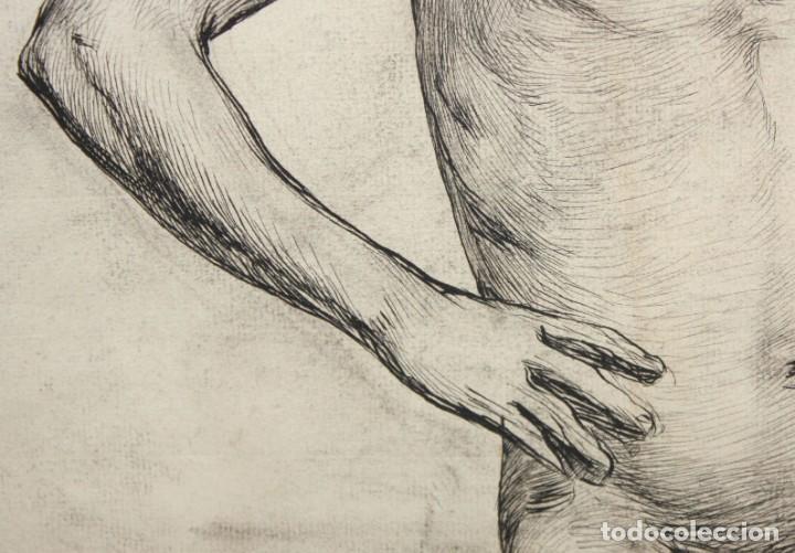 Arte: ANONIMO DE LA 2ª MITAD DEL SIGLO XIX. DIBUJO A DOBLE CARA CON ENCUADERNACION ISABELINA - Foto 6 - 213132871