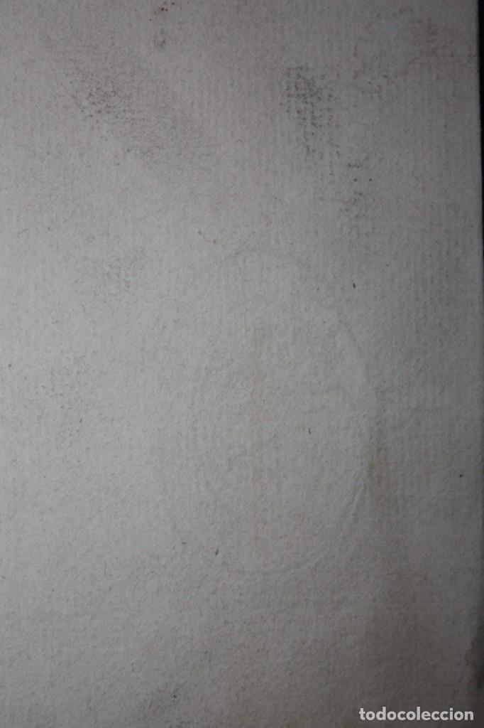 Arte: ANONIMO DE LA 2ª MITAD DEL SIGLO XIX. DIBUJO A DOBLE CARA CON ENCUADERNACION ISABELINA - Foto 14 - 213132871