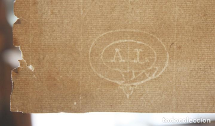 Arte: ANONIMO DE LA 2ª MITAD DEL SIGLO XIX. DIBUJO A DOBLE CARA CON ENCUADERNACION ISABELINA - Foto 11 - 213132871
