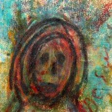 Arte: JOSE Mª DE SUCRE I GRAU (1886 - 1969) DIBUJO A CERAS. PERSONAJE. Lote 213460278