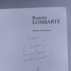 Arte: RAMÓN LOMBARTE - DIBUJO EN CATÁLOGO. Lote 214418968