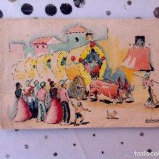 Arte: ARÉVALO ESCENA DE FERIA. Lote 215128670