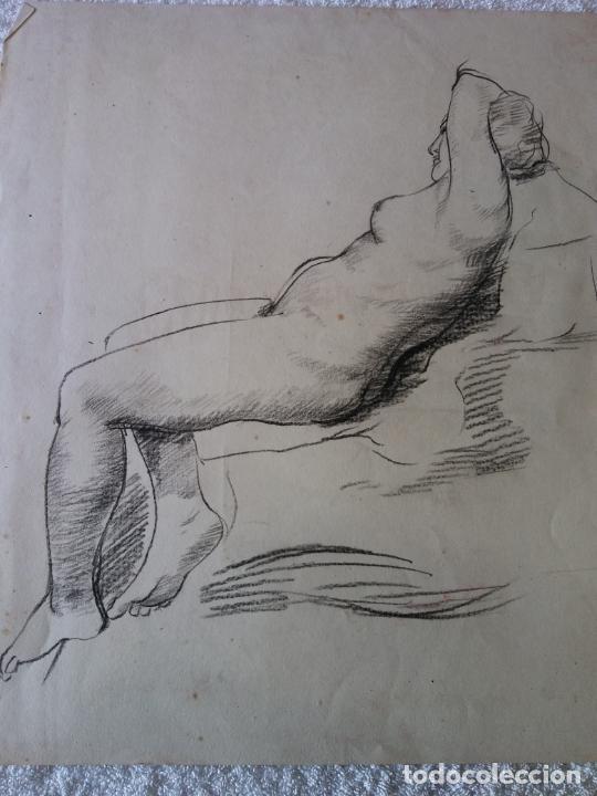 ORIGINAL. OBRA DE FRANCESC GASSÓ. MUJER. MEDIDAS 35*40 CM (Arte - Dibujos - Contemporáneos siglo XX)