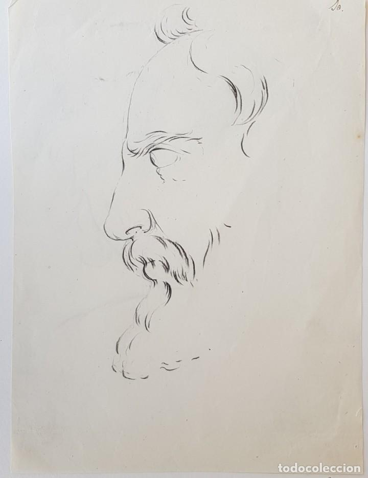 ACADEMIA / LÁPIZ NEGRO (Arte - Dibujos - Modernos siglo XIX)