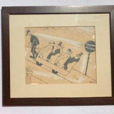 Arte: ENRIC BONET SINTES * PASO PARA PEATONES 1930. Lote 215815783