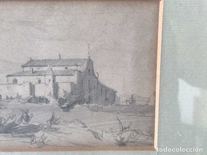 Arte: JOAQUIM MIR (1873-1940) IMPORTANTE DIBUJO A LÁPIZ. PRINCIPIOS DEL S.XX. - Foto 5 - 216421578