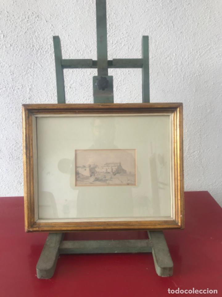 Arte: JOAQUIM MIR (1873-1940) IMPORTANTE DIBUJO A LÁPIZ. PRINCIPIOS DEL S.XX. - Foto 6 - 216421578