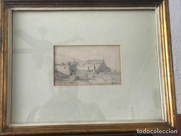 Arte: JOAQUIM MIR (1873-1940) IMPORTANTE DIBUJO A LÁPIZ. PRINCIPIOS DEL S.XX. - Foto 7 - 216421578