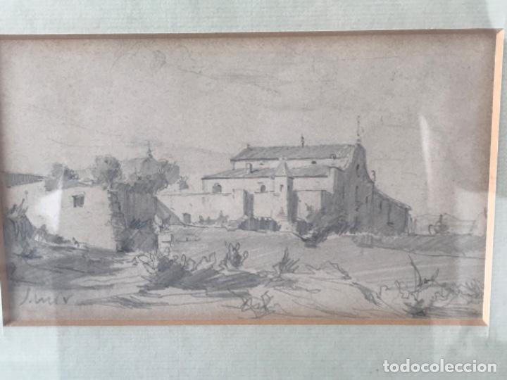 Arte: JOAQUIM MIR (1873-1940) IMPORTANTE DIBUJO A LÁPIZ. PRINCIPIOS DEL S.XX. - Foto 8 - 216421578