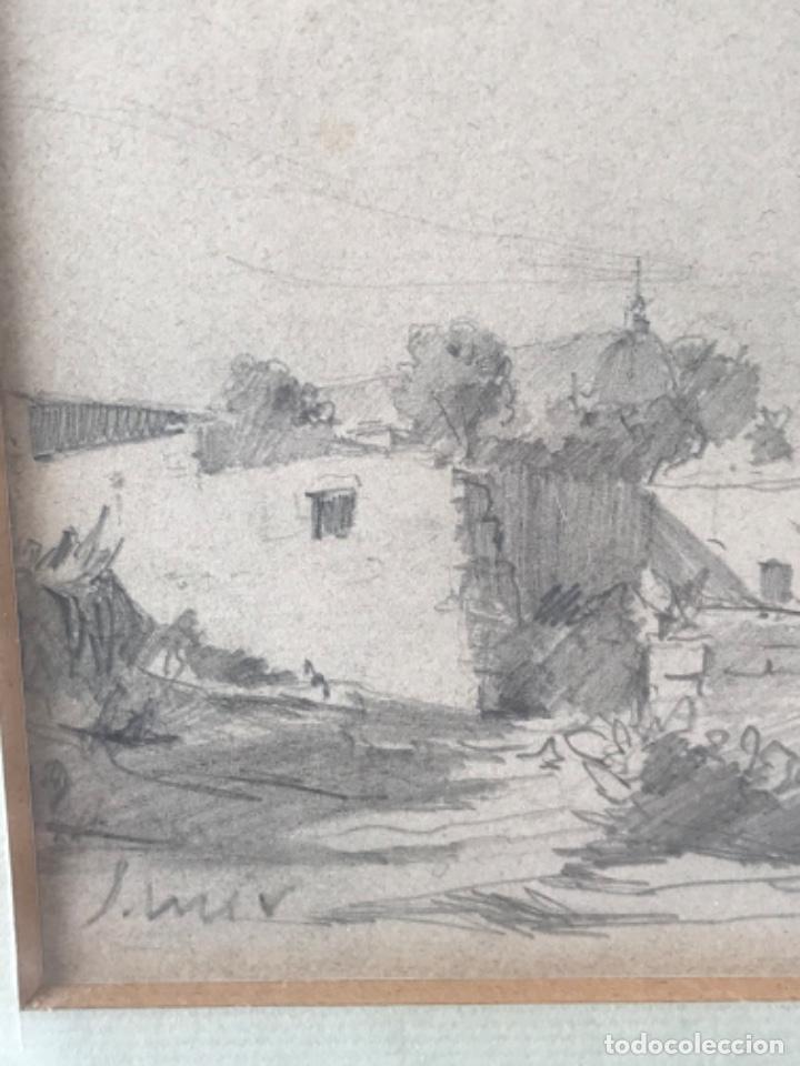 Arte: JOAQUIM MIR (1873-1940) IMPORTANTE DIBUJO A LÁPIZ. PRINCIPIOS DEL S.XX. - Foto 9 - 216421578