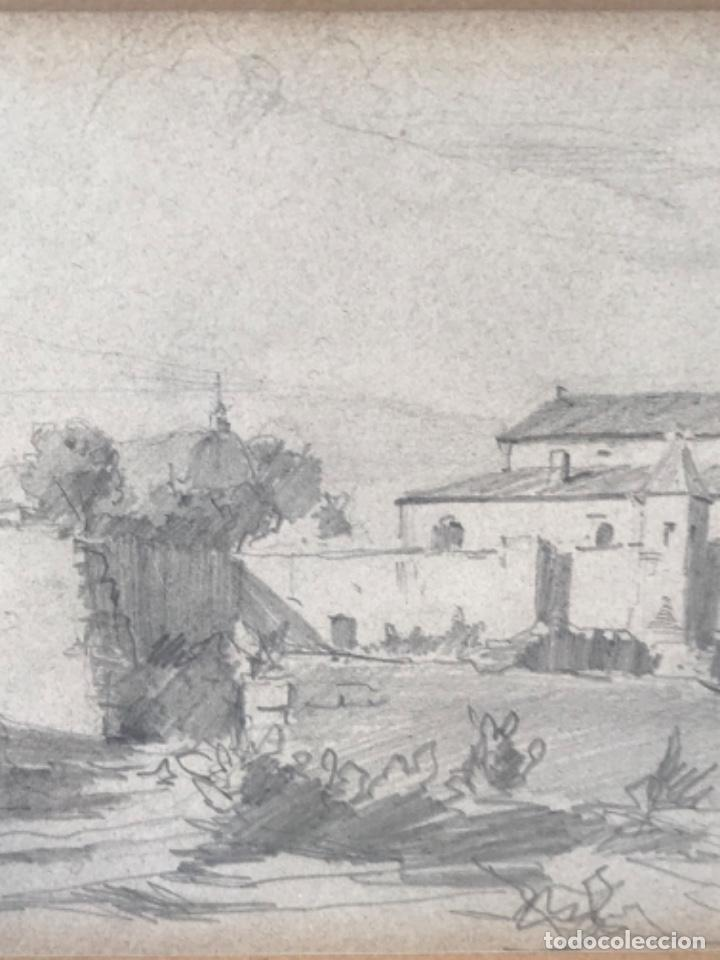 Arte: JOAQUIM MIR (1873-1940) IMPORTANTE DIBUJO A LÁPIZ. PRINCIPIOS DEL S.XX. - Foto 10 - 216421578