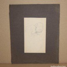 Arte: ANONIMO. DIBUJO A LAPIZ. RETRATO. Lote 216671123