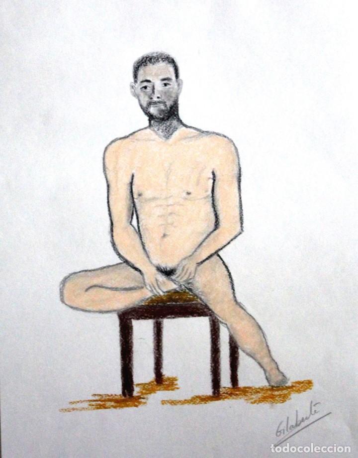 MODELO OBRA DE GILABERTE (Arte - Dibujos - Contemporáneos siglo XX)