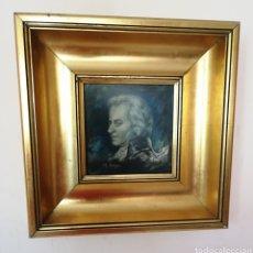 Arte: MANUEL DIAGO BENLLOCH - VALENCIA . DIBUJO DE MOZART. ENVIO CERTIFICADO INCLUIDO.. Lote 217802456