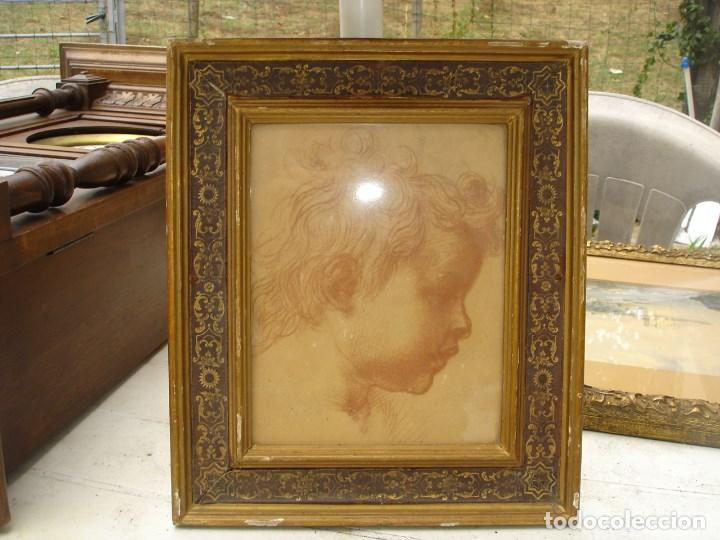 Arte: Preciosa sanguina del siglo XIX mediados creo todo original - Foto 2 - 218249588