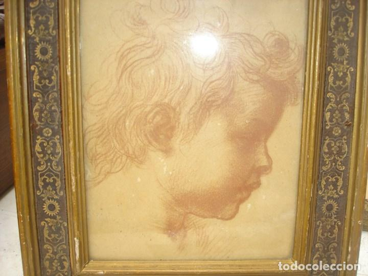 Arte: Preciosa sanguina del siglo XIX mediados creo todo original - Foto 3 - 218249588