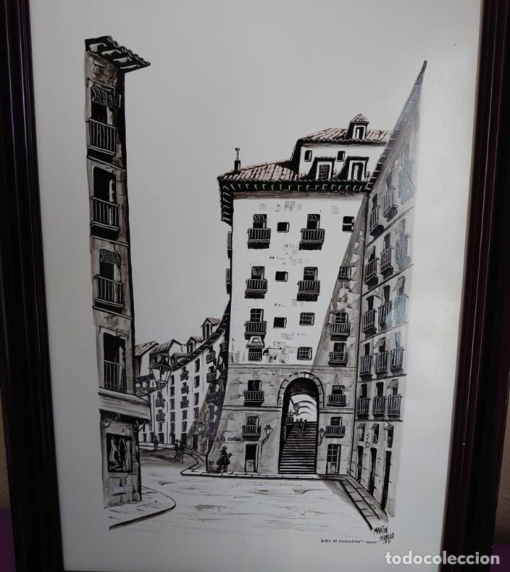 TINTA MARTIN HIDALGO 79 ARCO DE CUCHILLEROS MADRID (Arte - Dibujos - Contemporáneos siglo XX)