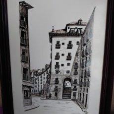 Arte: TINTA MARTIN HIDALGO 79 ARCO DE CUCHILLEROS MADRID. Lote 218596917