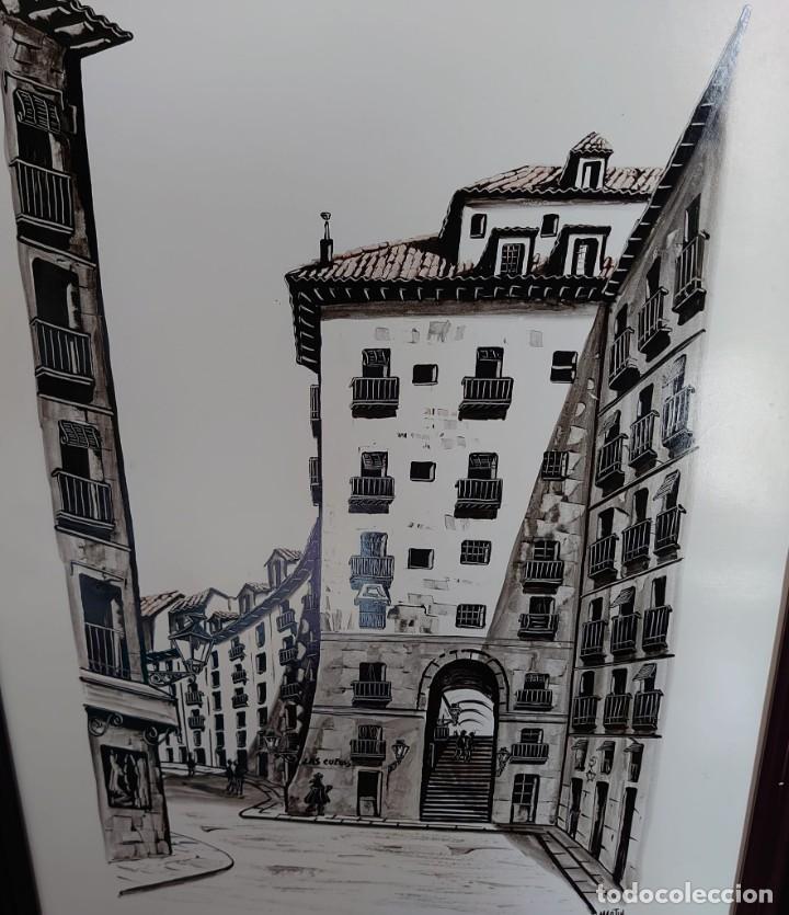 Arte: TINTA MARTIN HIDALGO 79 ARCO DE CUCHILLEROS MADRID - Foto 2 - 218596917