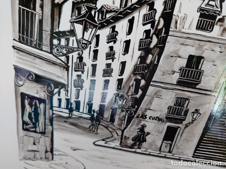 Arte: TINTA MARTIN HIDALGO 79 ARCO DE CUCHILLEROS MADRID - Foto 3 - 218596917