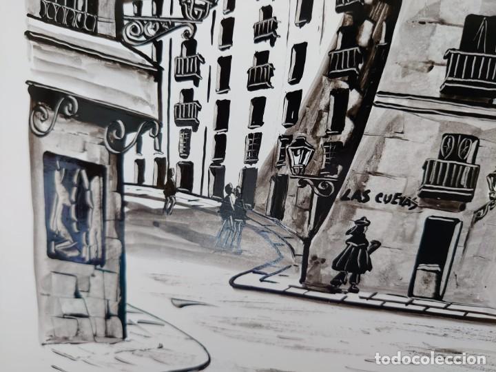 Arte: TINTA MARTIN HIDALGO 79 ARCO DE CUCHILLEROS MADRID - Foto 4 - 218596917