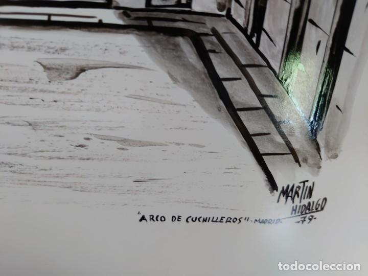 Arte: TINTA MARTIN HIDALGO 79 ARCO DE CUCHILLEROS MADRID - Foto 10 - 218596917