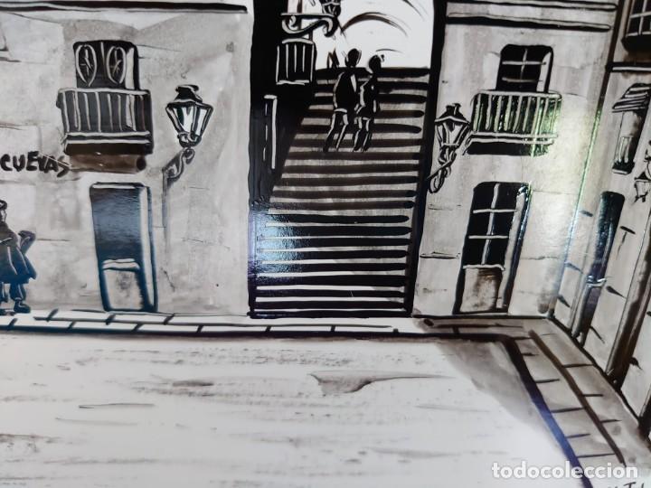 Arte: TINTA MARTIN HIDALGO 79 ARCO DE CUCHILLEROS MADRID - Foto 11 - 218596917