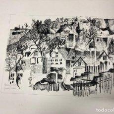 Arte: DIBUJO. TINTA. JOAN GRANADOS LLIMONA.1976. Lote 218833942
