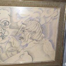 Arte: OBRA DE ARTE PERTENECIENTE AL RESTAURANTE LA CORRALADA.. Lote 218876527
