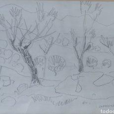 Arte: MANUEL CAPDEVILA I MASSANA (BARCELONA 1910- 2006) DIBUJO SOBRE PAPEL 1993. Lote 219051886