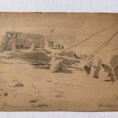 Arte: JOAN LLAVERIAS - PALAMOS 1899. Lote 219119851
